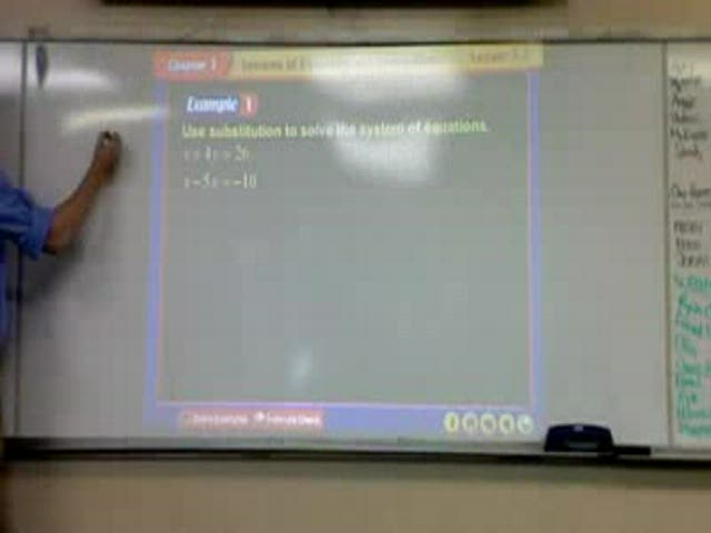 Solving Systems of Equations Help Video in High School Math