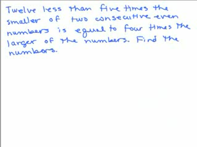 Consecutive Integer Problem 3 Help Video in High School Math – Consecutive Integers Word Problems Worksheet