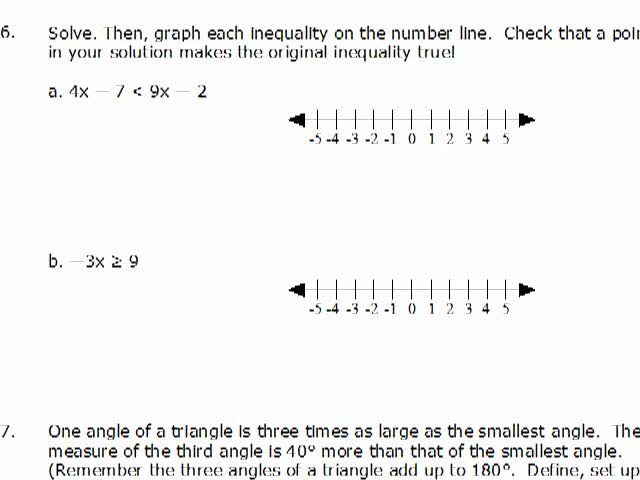 elementary algebra practice exam solutions series of videos math  elementary algebra practice exam solutions 6 8 preview image