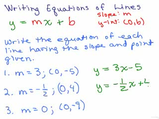 Graphing 18 - Writing Equations 1 preview image