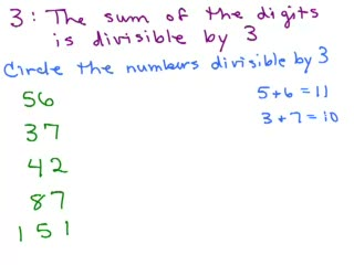 Divisibility Tests for 2, 3, 5, 7 and 11 preview image