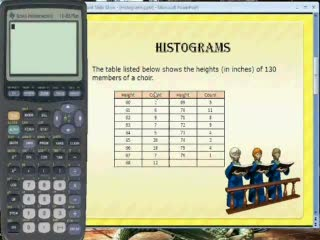 TI-83/84: Creating a Histogram preview image