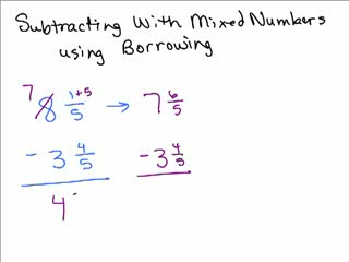 How to Subtract Fractions Part 2 preview image