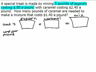 Value Mixture Problem 2 preview image