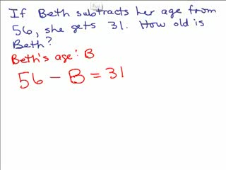 Basic Algebra Word Problems 2 preview image