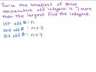 Consecutive Integer Problem 2 preview image