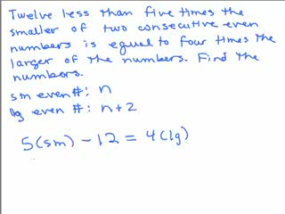 Consecutive Integer Problem 3 preview image