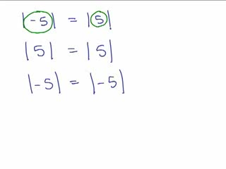 Absolute Value Equations 5 preview image