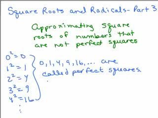 Square Roots and Radicals 3 preview image