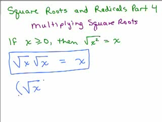 Square Roots and Radicals 4 preview image