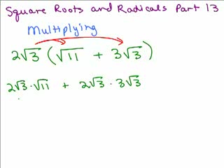 Square Roots and Radicals 13 preview image