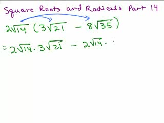 Square Roots and Radicals 14 preview image
