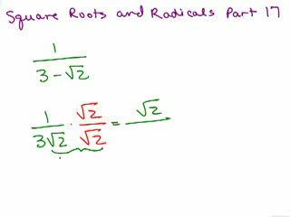 Square Roots and Radicals 18 preview image