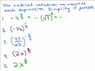 Rational Exponents 3 preview image