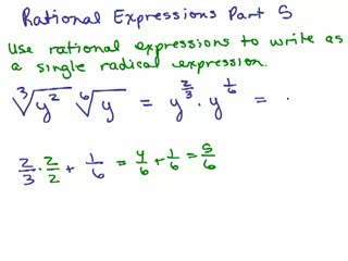 Rational Exponents 5 preview image