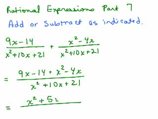 Rational Expressions 7 preview image