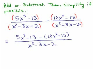 Rational Expressions 8 preview image