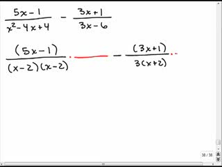 Adding rational expressions with different denominators 5 preview image