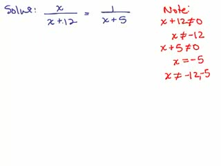 Solve Rational Equations 3 preview image