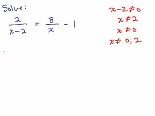 Solve Rational Equations 4 preview image