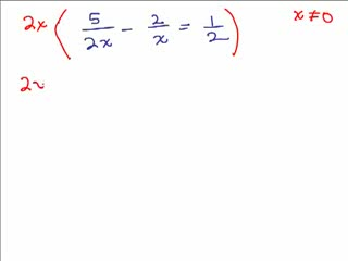 Solve Rational Equations 5 preview image