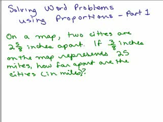 Solving Word Problems using Proportions 2 preview image