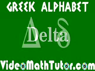 Greek Alphabet preview image
