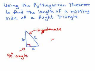 Pythagorean Theorem videos