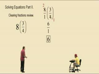 Solving Linear Equations Part 2 preview image