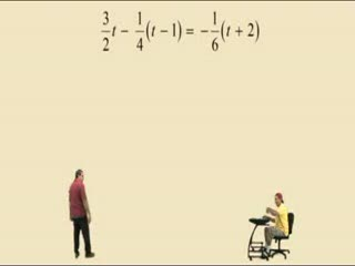 Solving Linear Equations Part 3 preview image