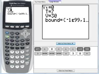 C12 Using Solver On A Graphing Calculator Help Video In High