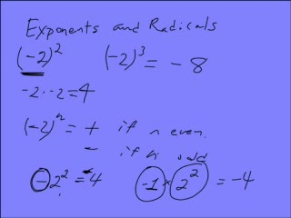 Integer and Negative Exponents preview image