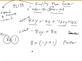 Multiplying and Factoring Polynomials preview image
