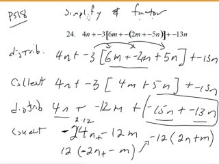 Multiplying and Factoring Polynomials 2 preview image