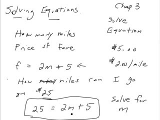 Writing and Solving Equations preview image