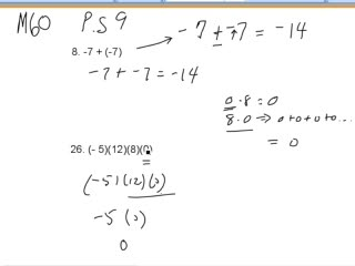 Addition and Multiplication Practice preview image