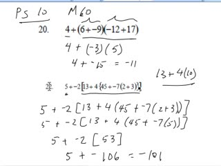 order of operations videos for middle school math pre algebra help  addition and multiplication practice 2 preview image