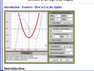 Derivative Curve from Function Curve preview image