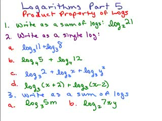 Logarithms 5 preview image