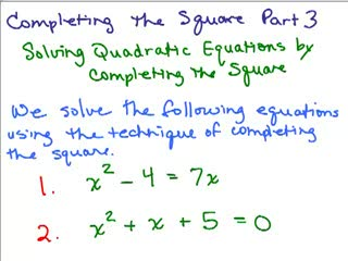 Completing the Square 3 preview image