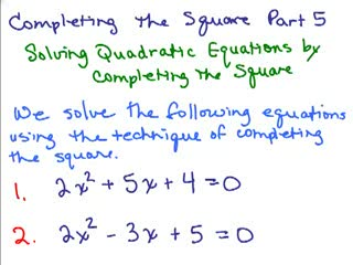 Completing the Square 5 preview image