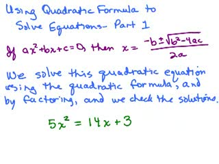 Quadratic Formula 1 preview image