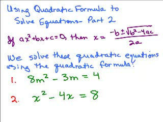 Quadratic Formula 2 preview image