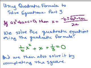 Quadratic Formula 3 preview image