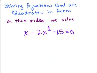 Quadratic in Form Equation 3 preview image
