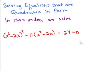 Quadratic in Form Equation 4 preview image