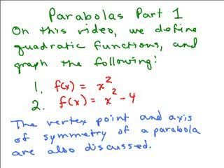 Basic Parabola preview image
