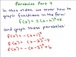 Parabolas 4 preview image
