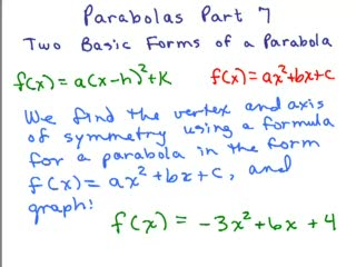 Parabolas 7 preview image