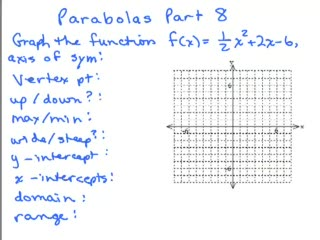 Parabolas 8 preview image